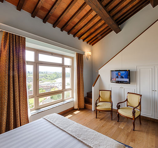 junior suite con vista hotel Mulino di Firenze