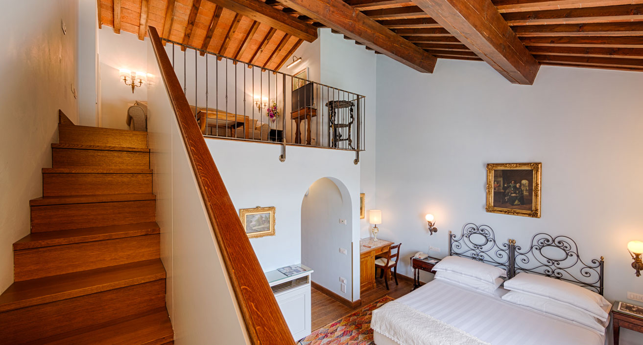 junior suite hotel Mulino di Firenze